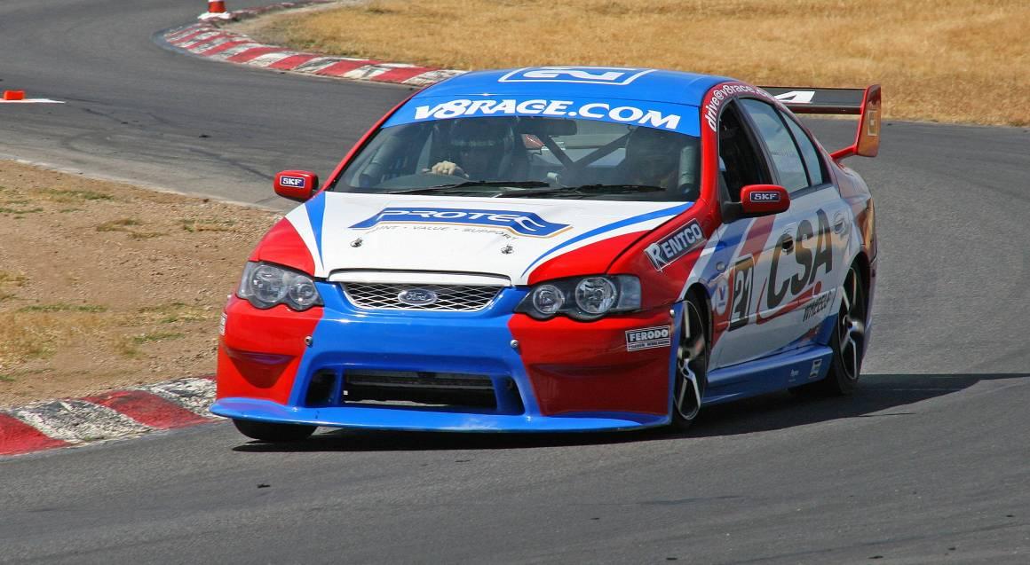 V8 Race Car Driving - 6 Laps - Launceston - TAS