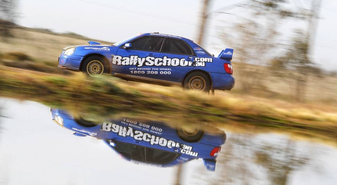 Rally Driving 3 Hot Laps - Melbourne