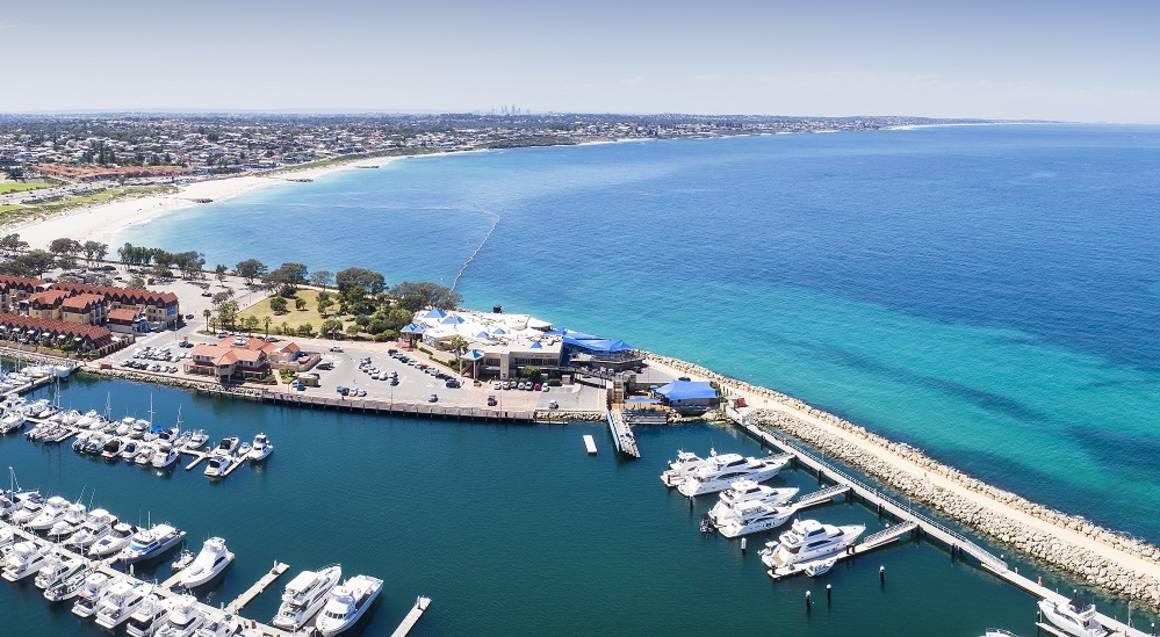 The Aquarium of Western Australia aerial view