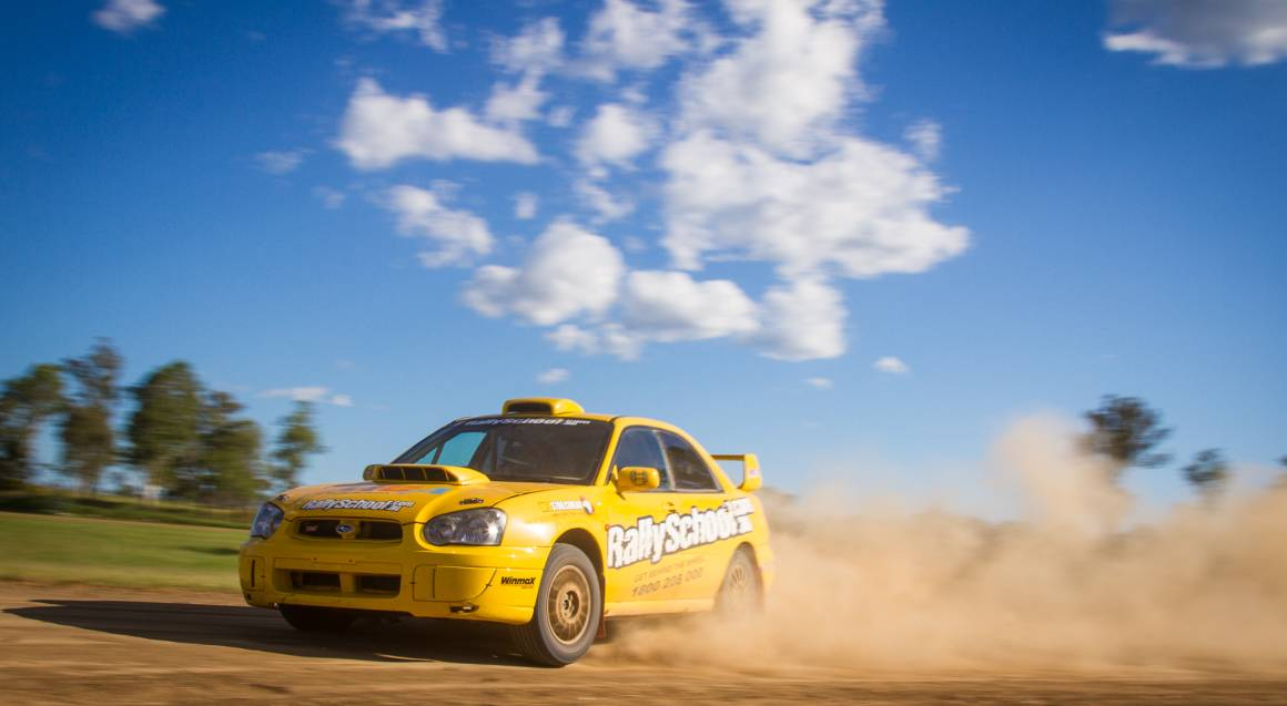 Rally Drive with Hot Lap Experience - 9 Laps - Hunter Valley