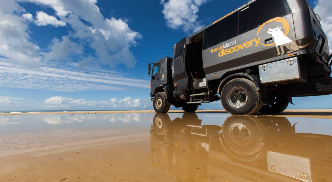 Fraser Island Sightseeing Tour with Lunch - Full Day