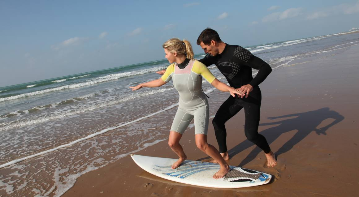 Beginner Surfing Lesson in Manly