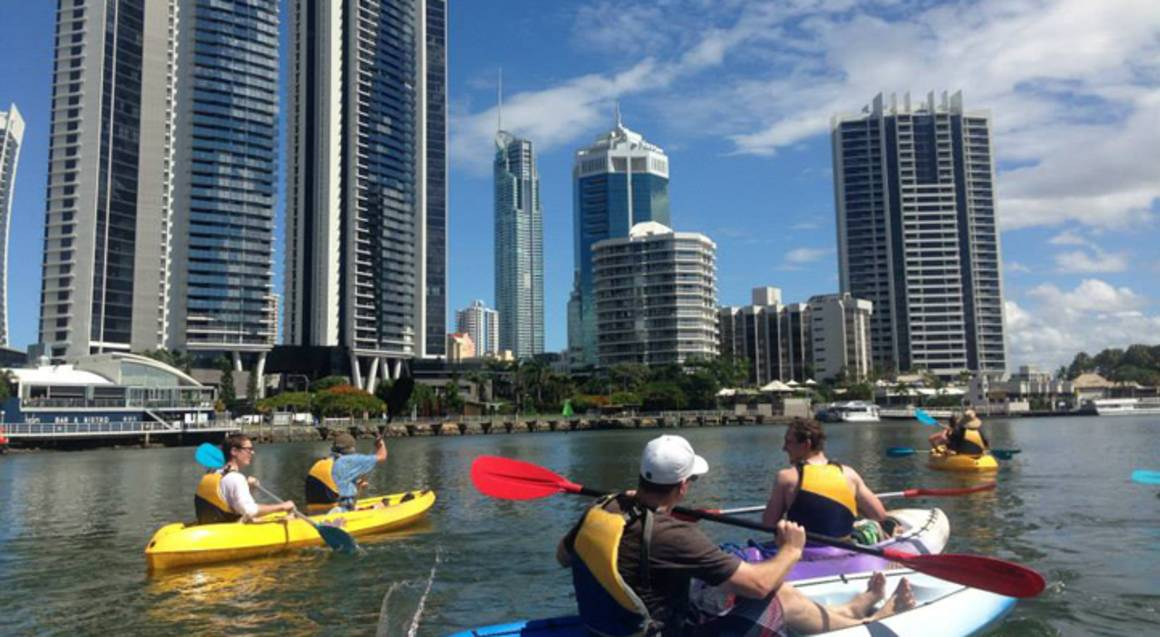 Surfers Paradise Double Kayak Hire - 4 Hours