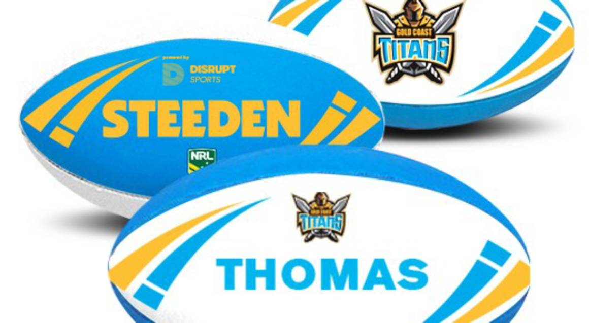 Personalised NRL Team Rugby League Ball