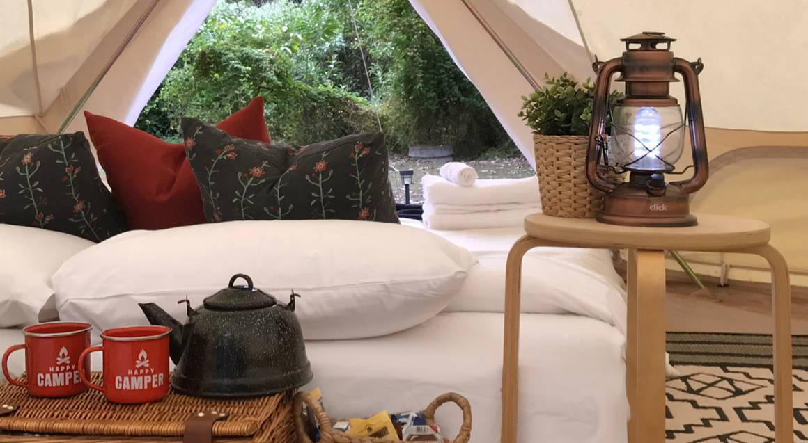 Weekend Glamping Getaway at Cattai Grounds - For 2