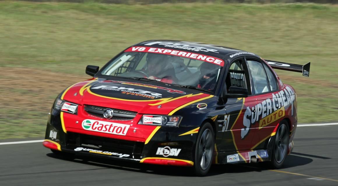 V8 Race Car Front Seat Hot Laps Ride - 3 Laps - Melbourne
