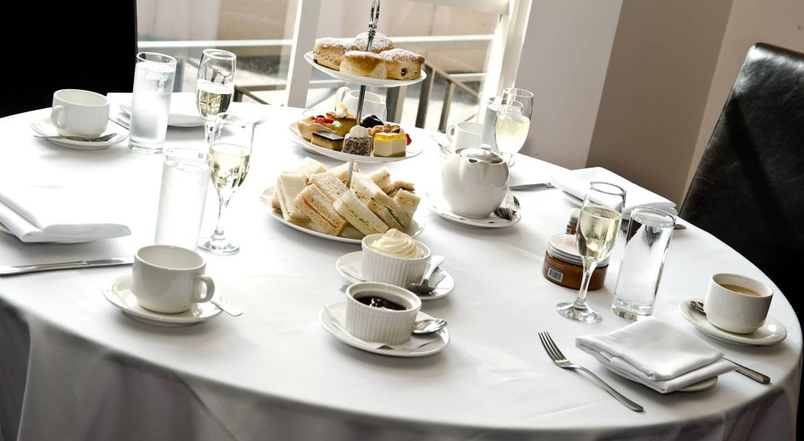 High Tea with French Sparkling Wine