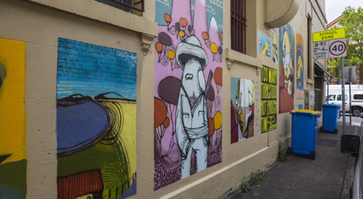 Street Art of Newtown and Enmore Walking Tour