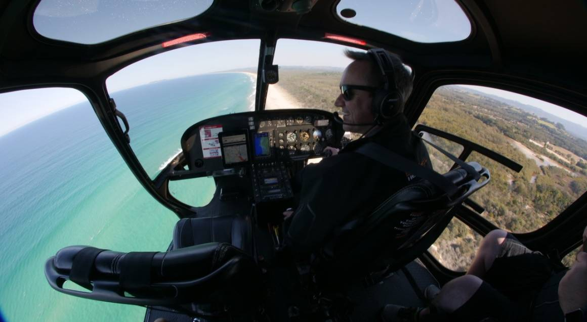 Scenic Helicopter Flight with Bubbles - 10 Minutes