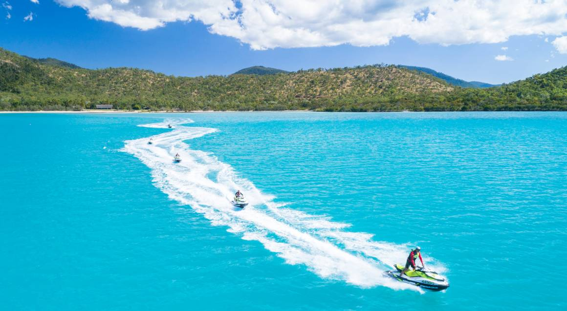 Whitsunday Jet Ski To Paradise Tour with Brunch - 3 Hours
