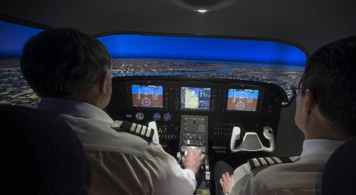 Full Motion Flight Simulator - 60 minutes