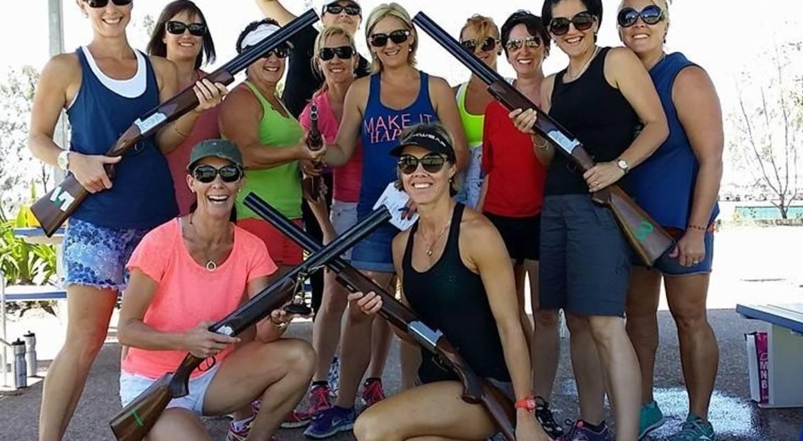Team Building Laser Clay Shooting