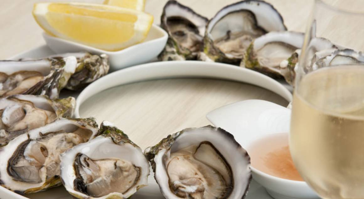 Indulgent Oysters and Sparkling Wine - For 2
