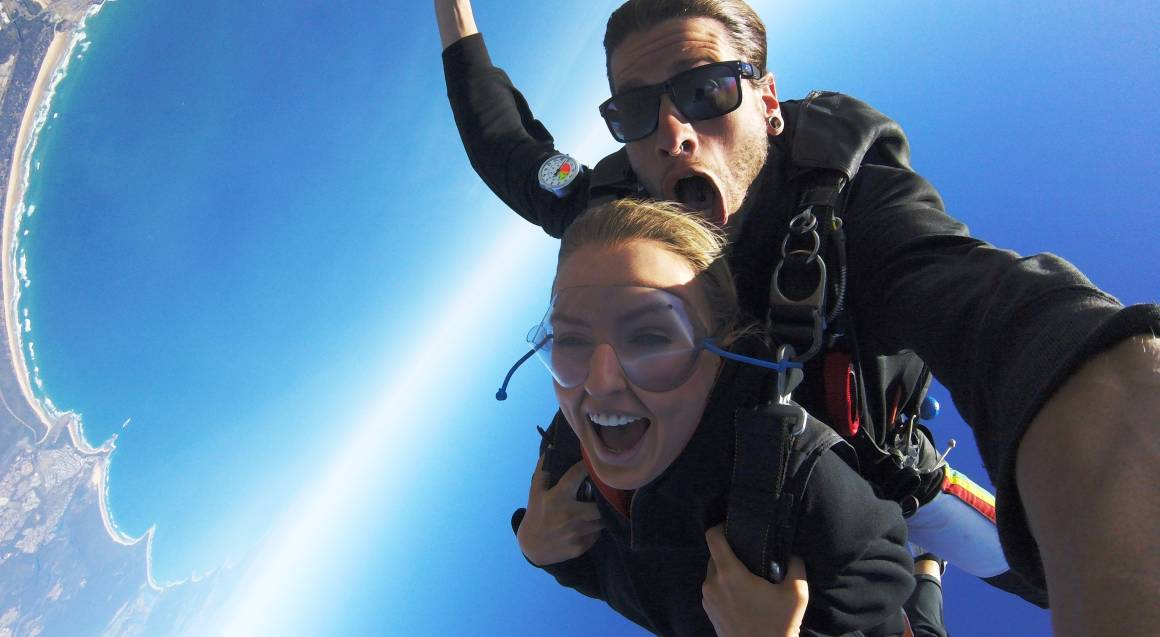 7,000ft Tandem Skydive Over Coffs Harbour