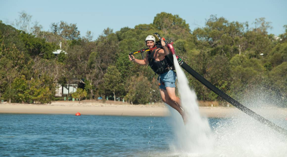 Jetpack and Flyboard Combo Experience - Penrith
