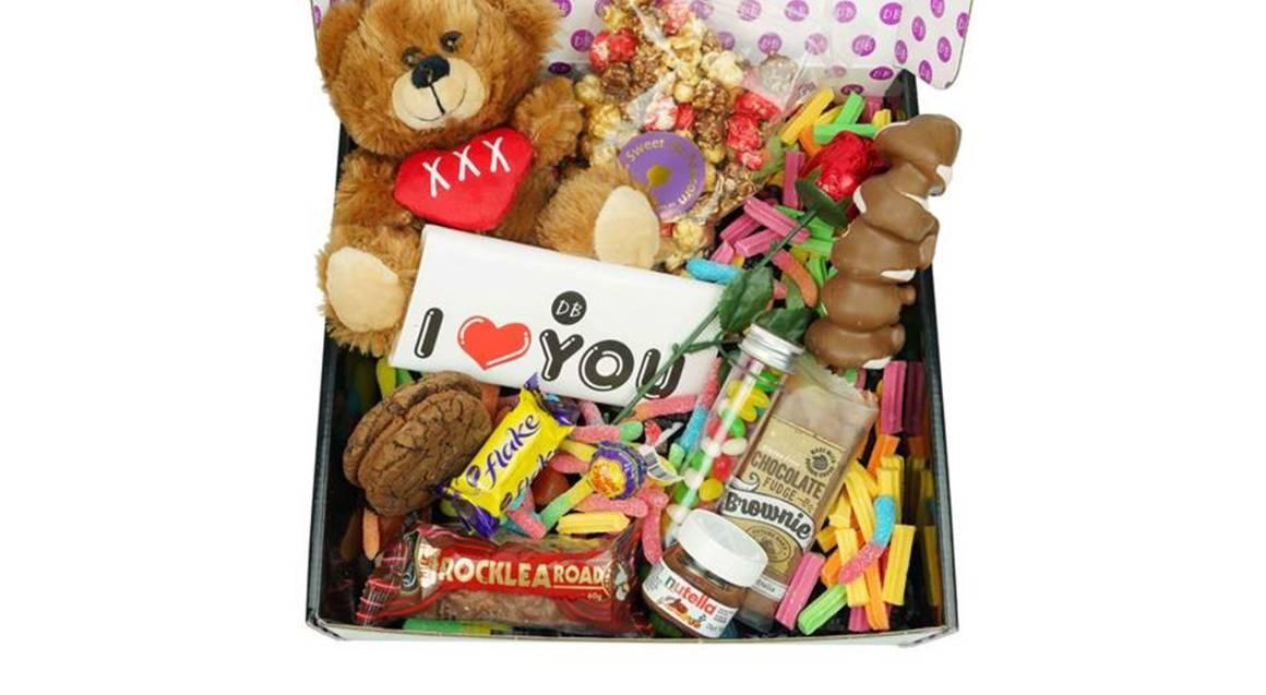Romantic Chocolate Gift Box