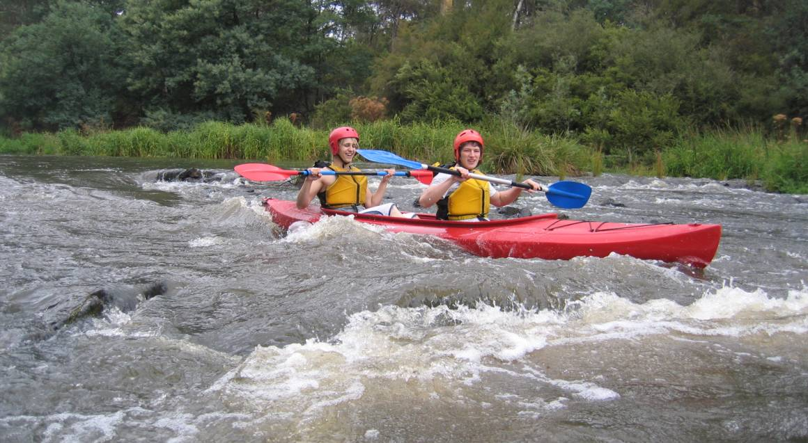 Abseiling and White Water Kayaking Experience
