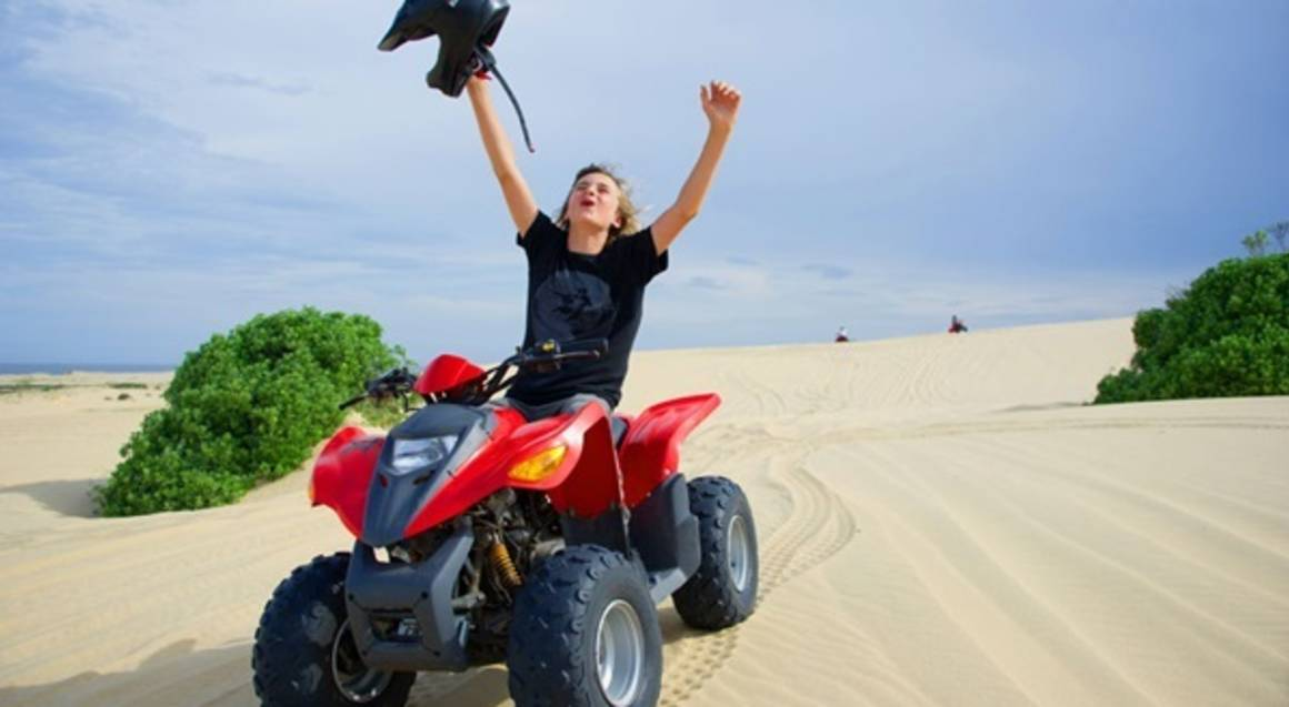 The Sandpit Quad Bike Experience - Adult