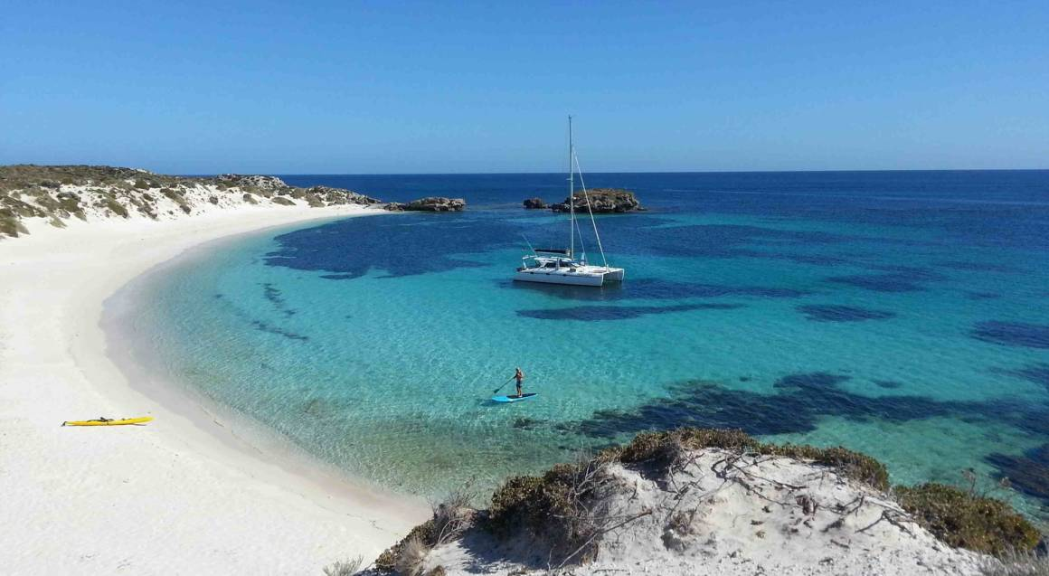 Rottnest Island Sailing Charter with Water Equipment