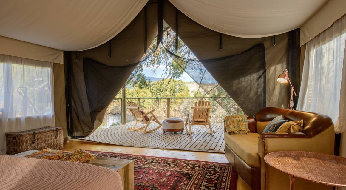 2 Night Luxury Glamping with Breakfast and Dinner - For 2