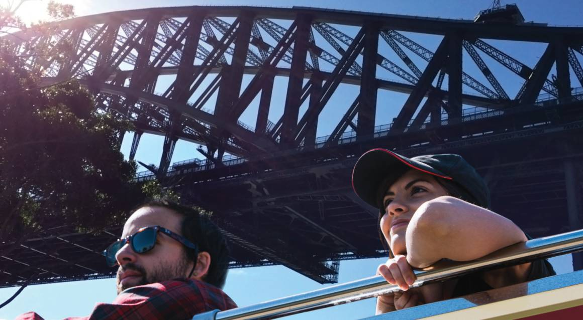 Sydney to Bondi 24 Hour Hop On Hop Off Bus Ticket
