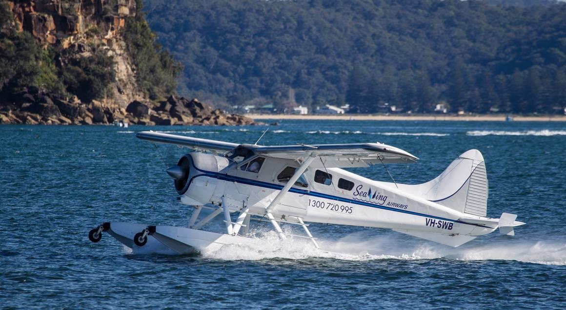 Seaplane Romantic Beach Picnic - For 2
