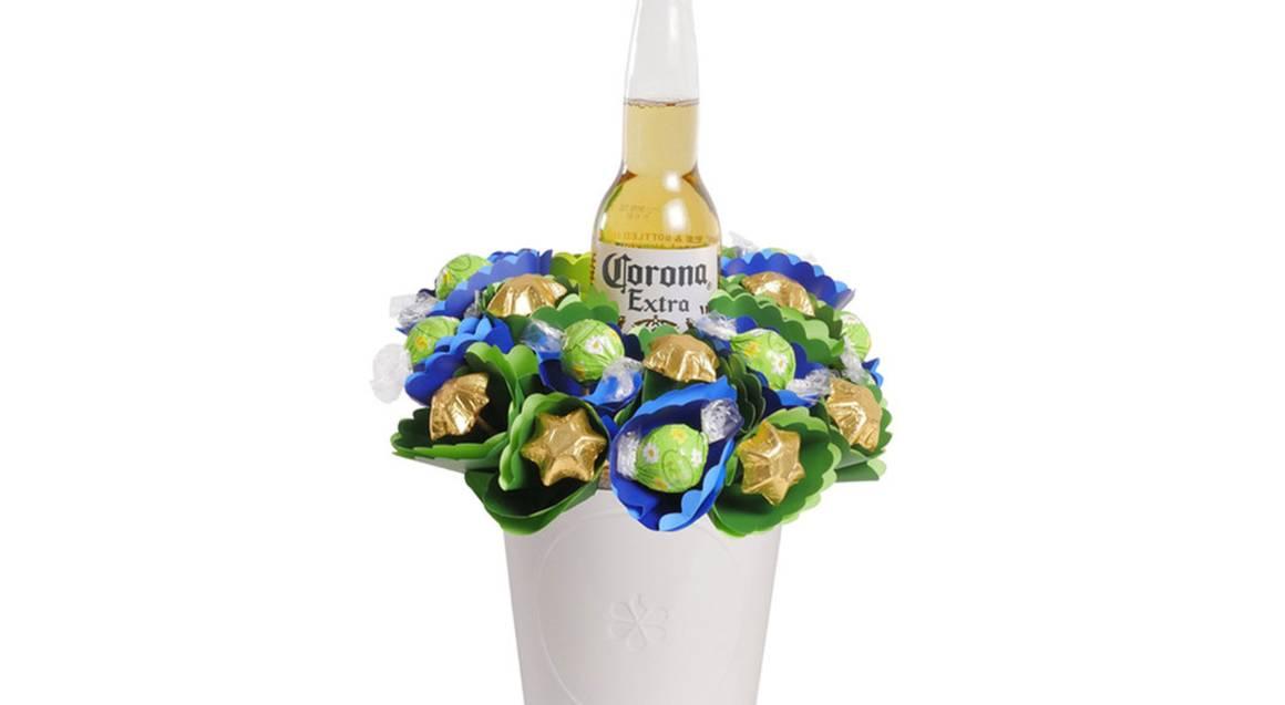 Corona Beer Bouquet