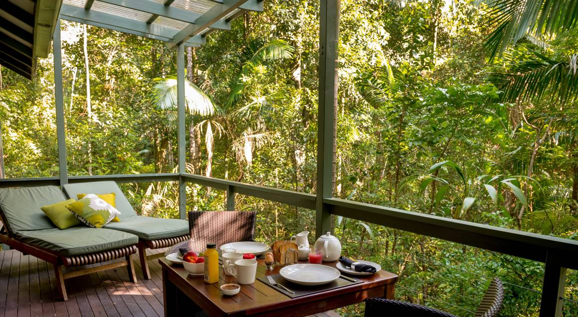 2 Night Rainforest Retreat with Breakfast and Wine - Weekend