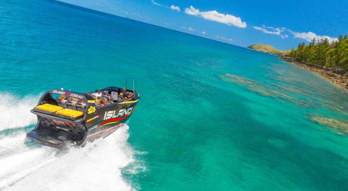 Jet Boat Ride Around The Whitsundays - For 12