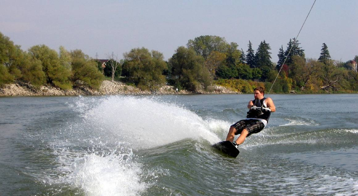 Full Day Wake Boat Charter with Coaching and Equipment