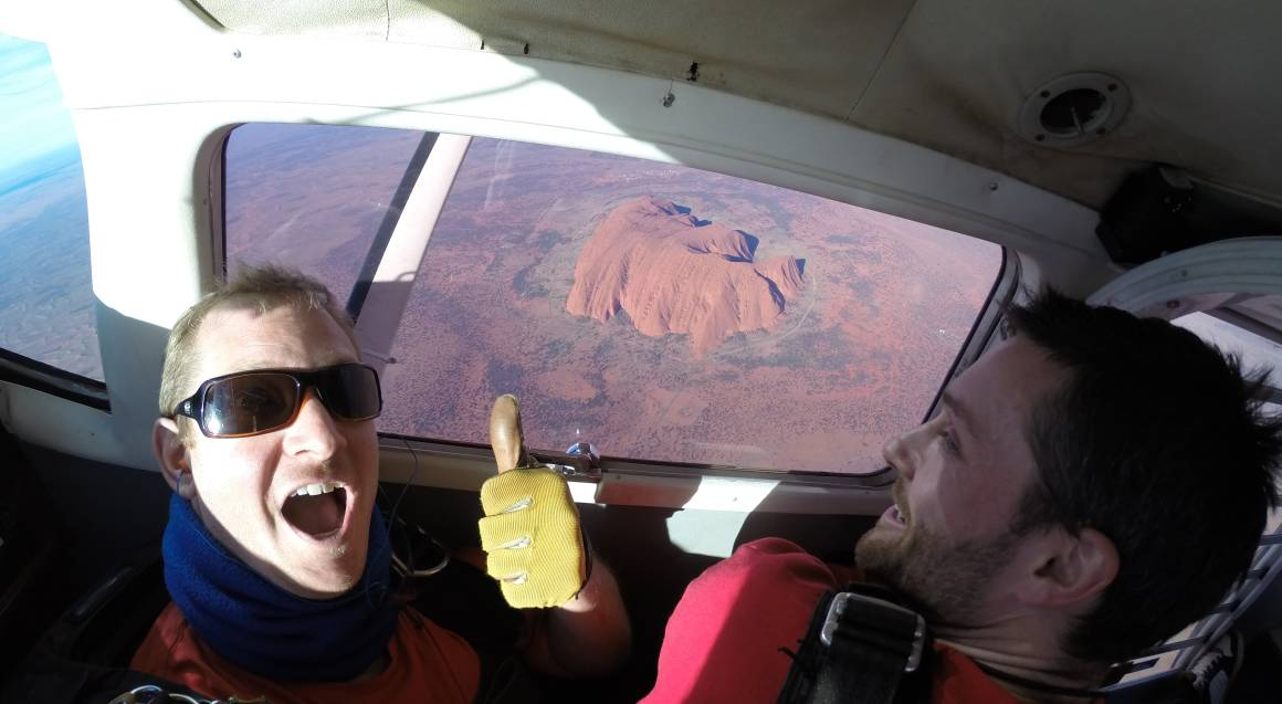 Uluru Daytime Tandem Skydive - 12,000ft - For 2