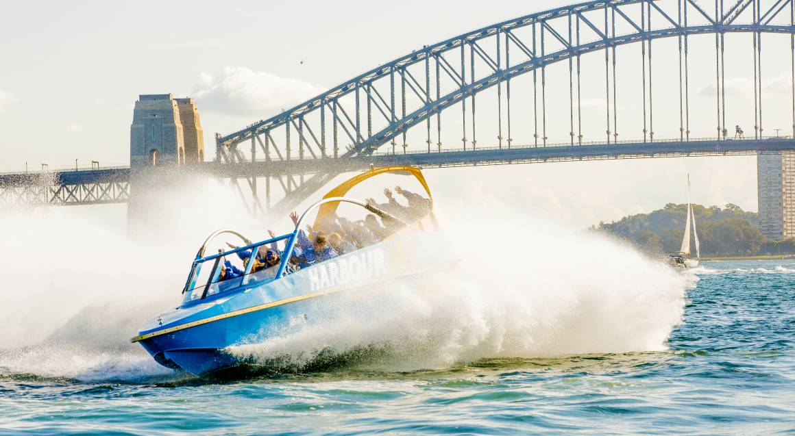 Jet Boat in Sydney Harbour - 50 Minutes