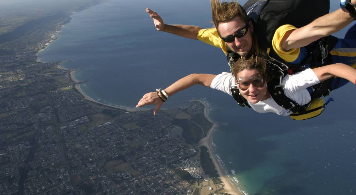 Proposal Package: Skydive Over The Beach - St Kilda