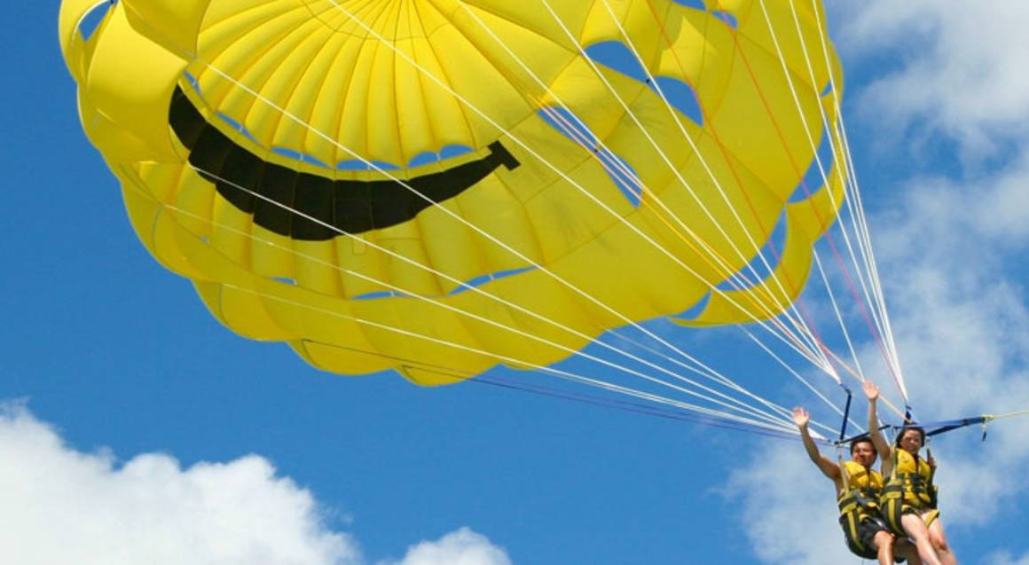 Parasailing, Jet Ski and Speed Boat Thrill Ride - For 2