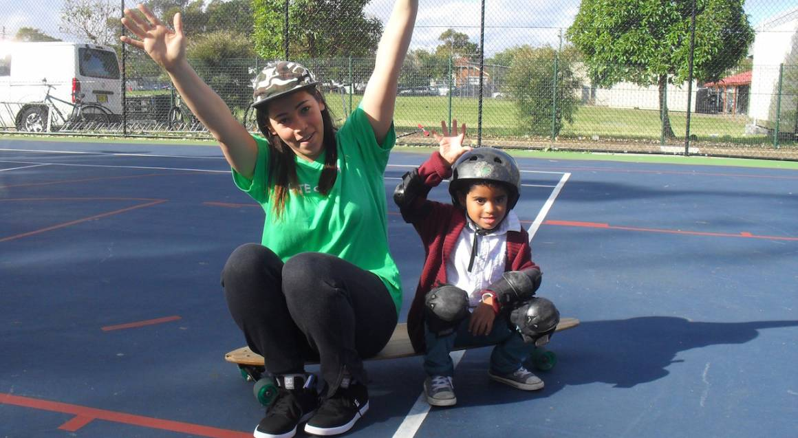 Learn to Skateboard - Kids Lesson