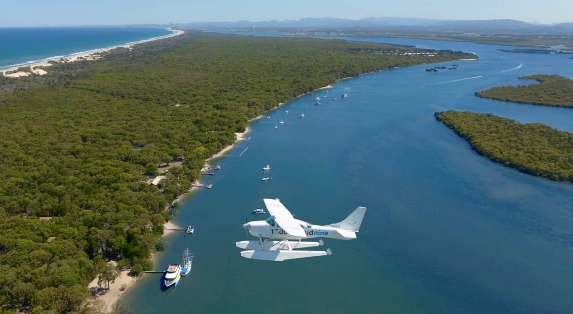 Seaplane Getaway to South Stradbroke Island