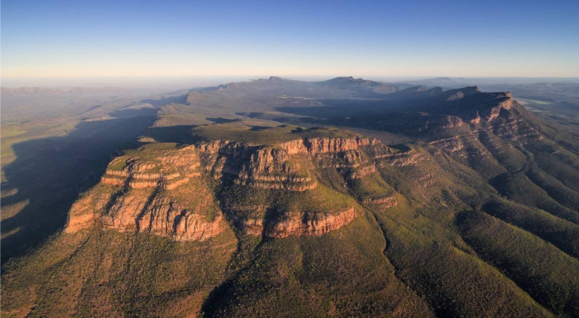 Scenic Flight over Wilpena Pound and Flinders Ranges