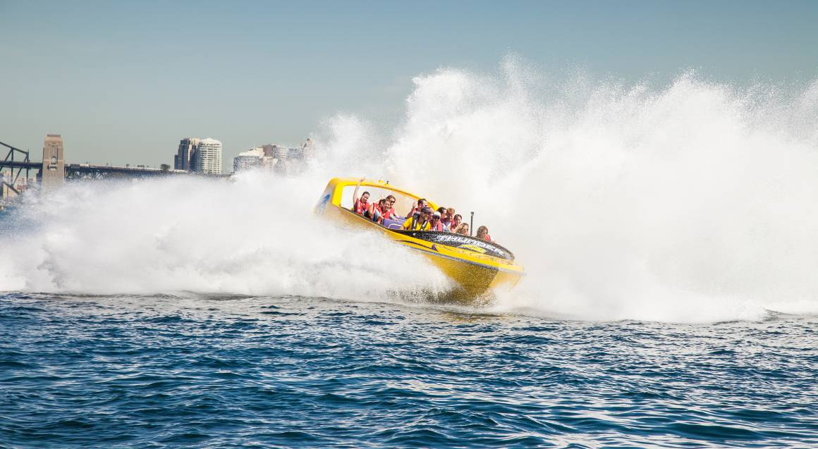 Jet Boat Ride on Sydney Harbour - 30 Minutes