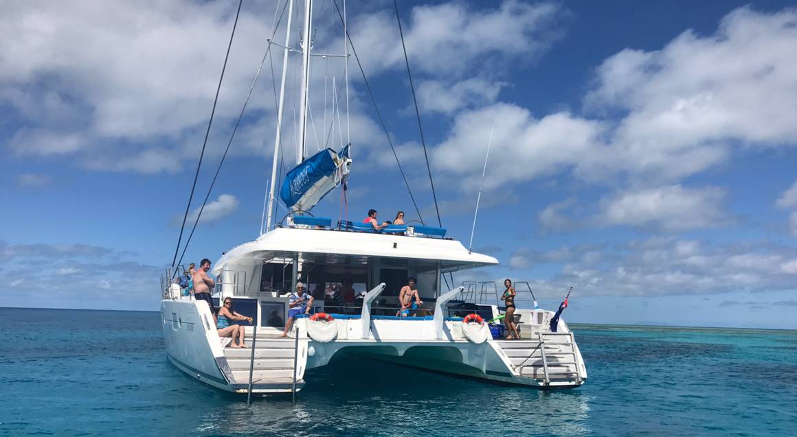 Full Day Outer Barrier Reef Tour with Buffet Lunch and More
