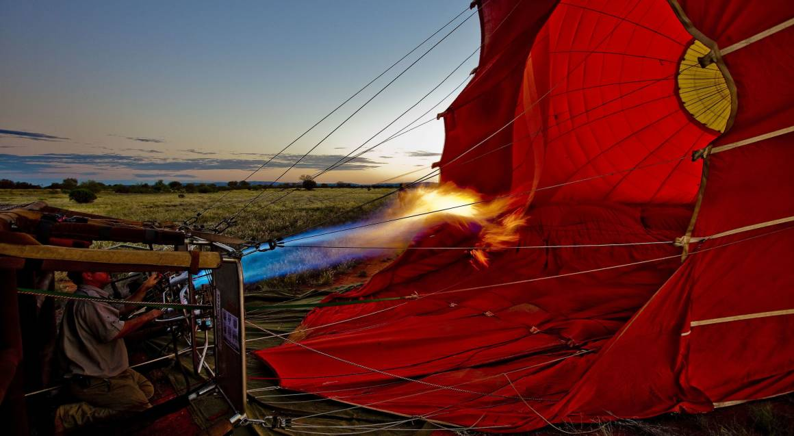 Alice Springs Hot Air Ballooning - 60 Minutes