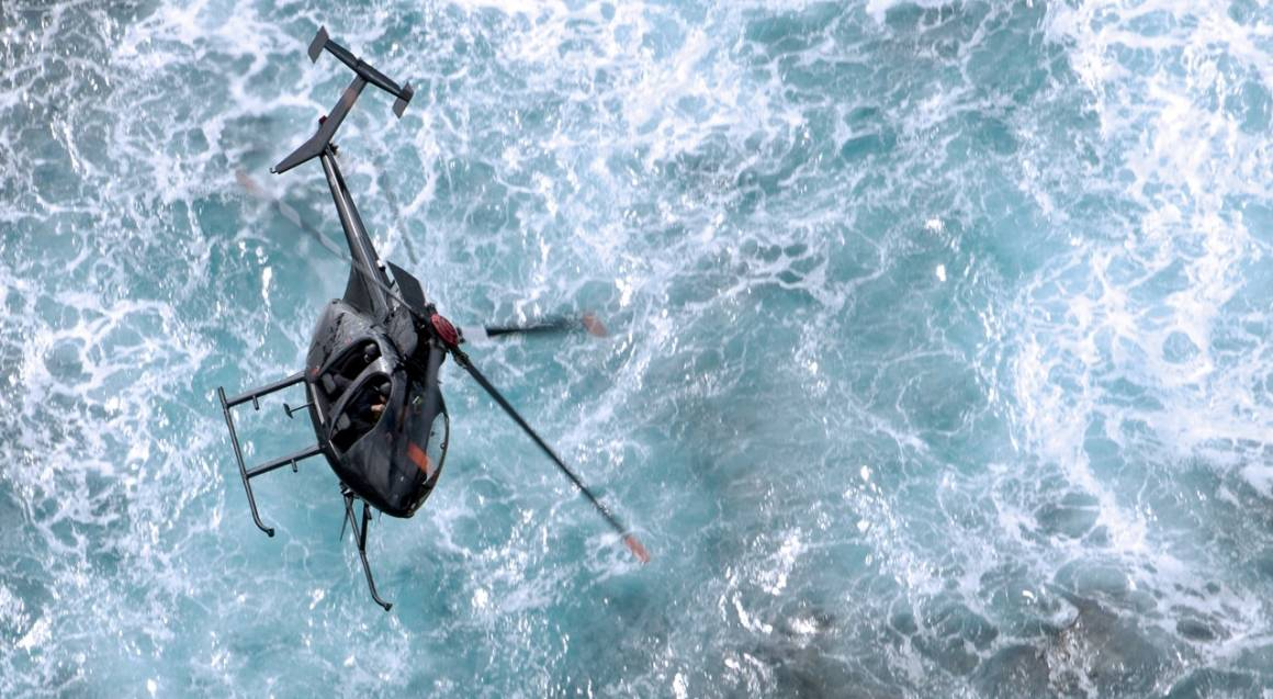 Private Black Ops Helicopter Mission - 30 Mins - For Up To 4
