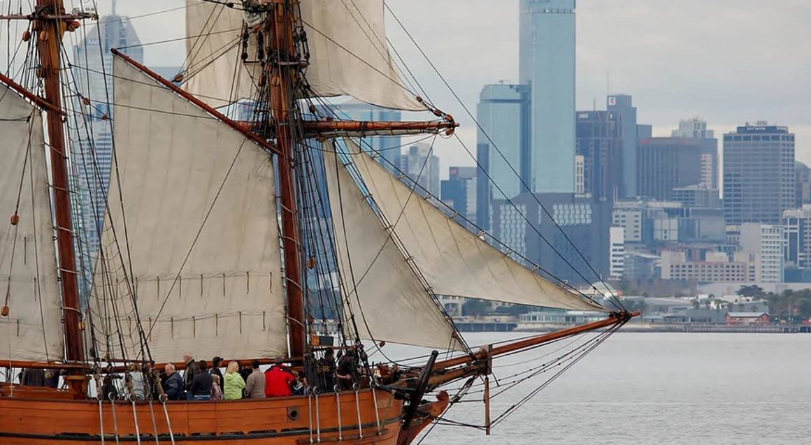 Tall Ship Harbour Cruise from Williamstown - Adult