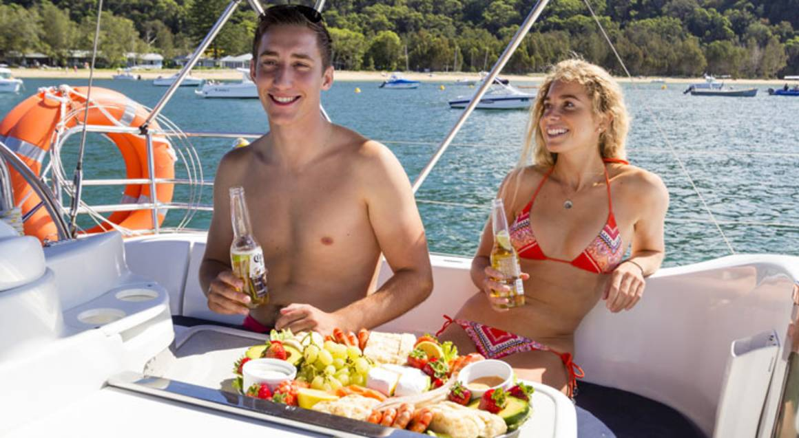Romantic Private Yacht Cruise and Seafood Platter - For 2