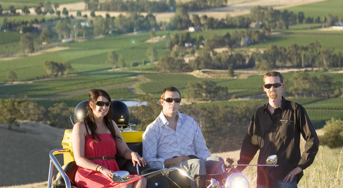Barossa Valley Trike Tour - 90 Mins - For 2