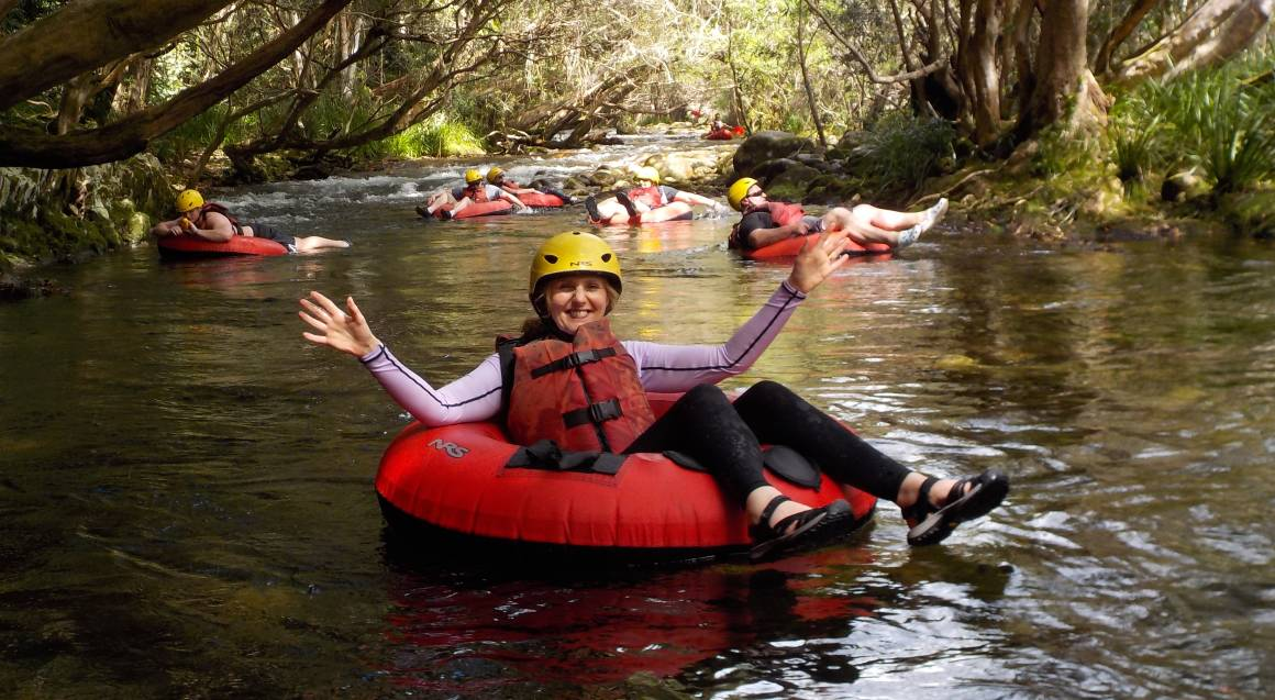 Easy River Tubing Adventure with Transfers and Snacks