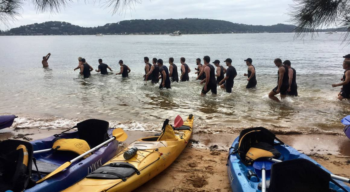 Team Bonding Kayaking and Personal Training Session