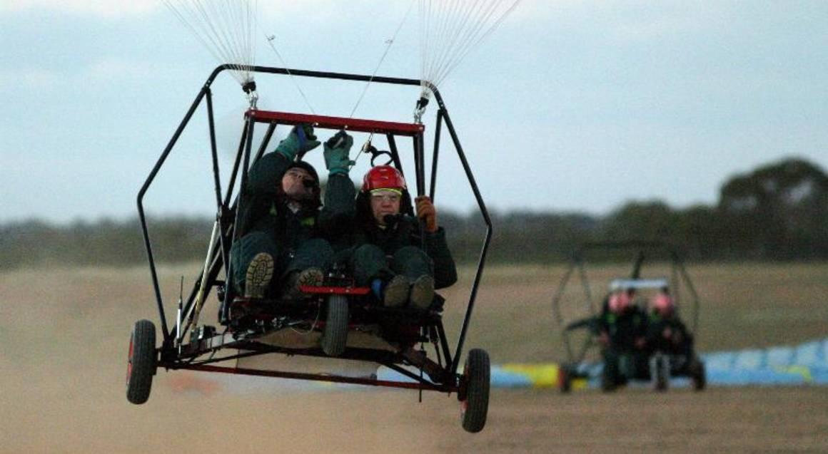 Aerochute Training Flight