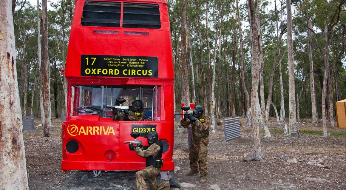 Group Paintball Experience - 100 Paintballs - Appin