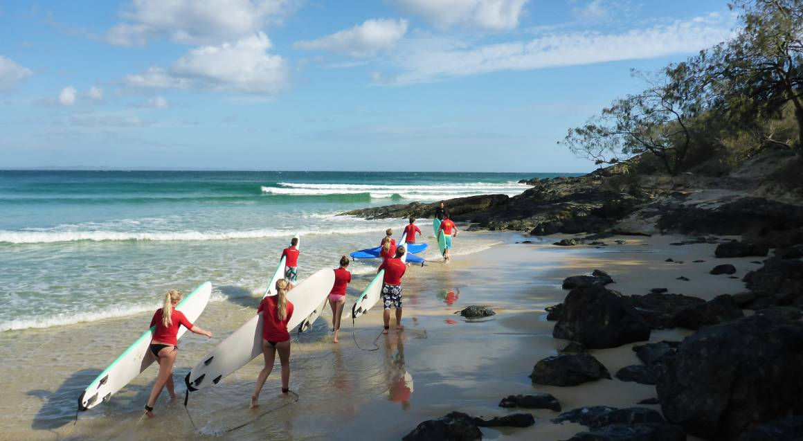 Epic 4WD Beach Drive with Surf Lesson - Half Day