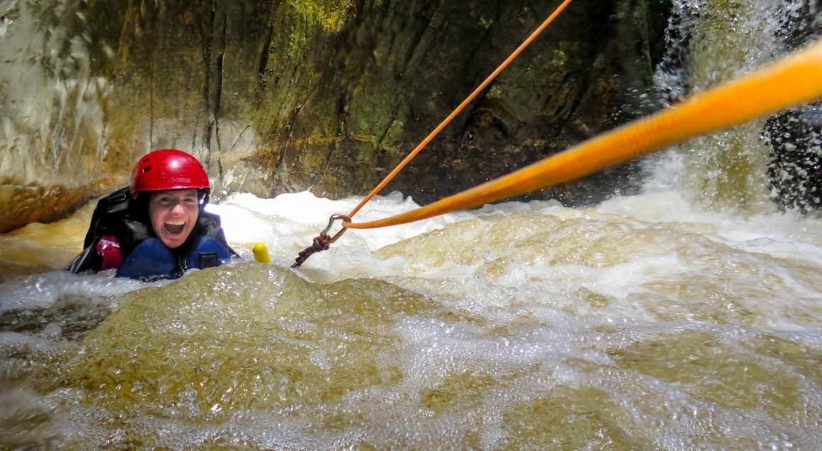 Cradle Mountain Canyoning Experience with Lunch - Full Day